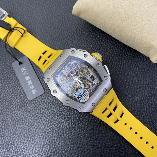 Replica Richard Mille RM011-03 Yellow