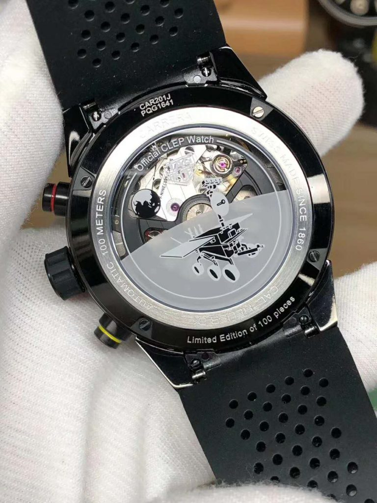 Tag Heuer Meteorite Case Back