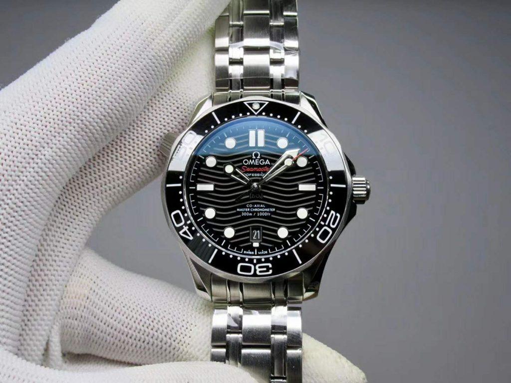 Replica Omega Seamaster Diver 300m Black