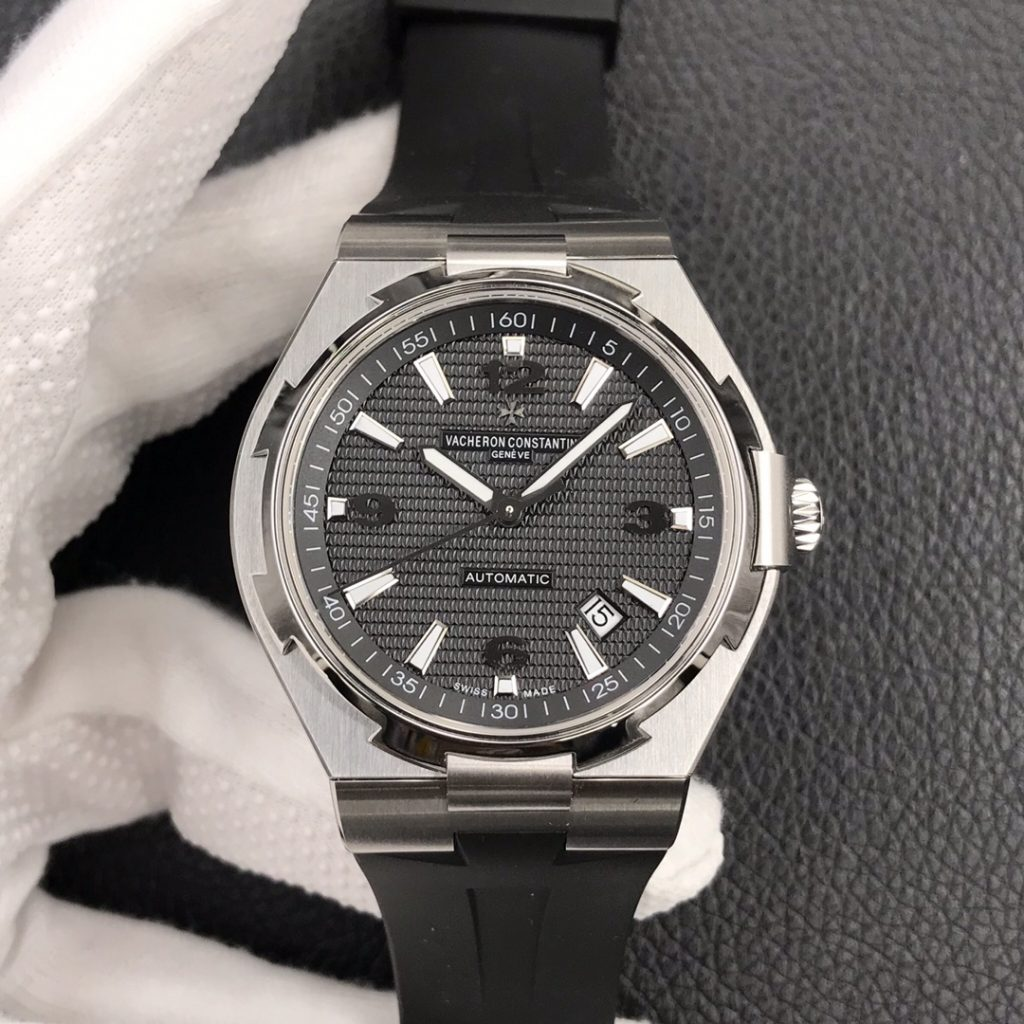 Replica Vacheron Constantin Black Rubber