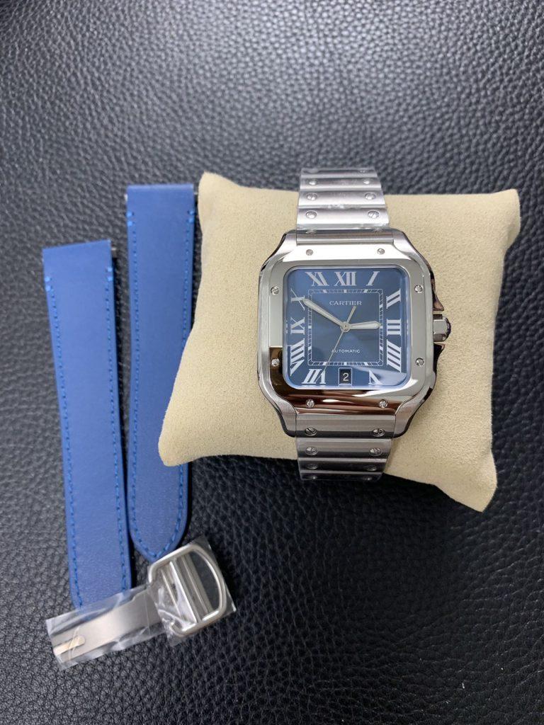 Replica Cartier Santos Blue