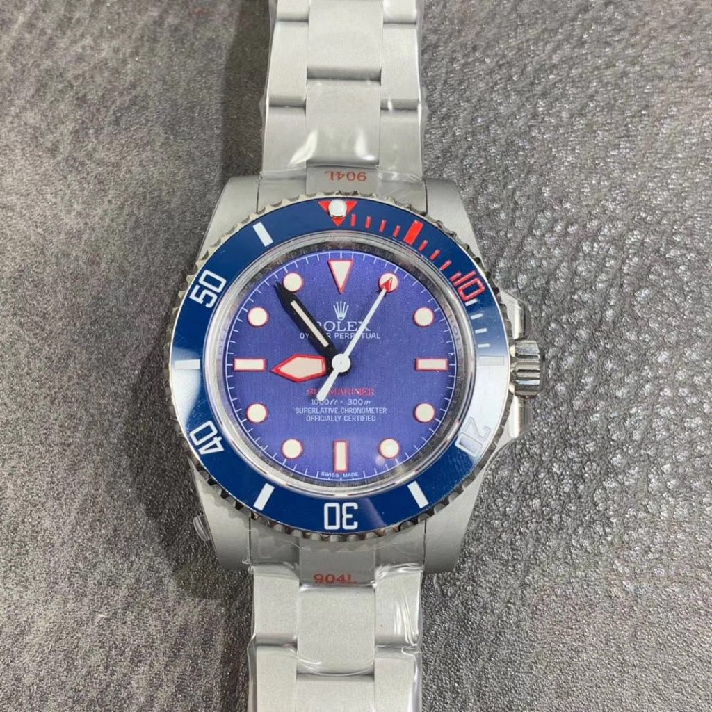 Replica Rolex Submariner Blue