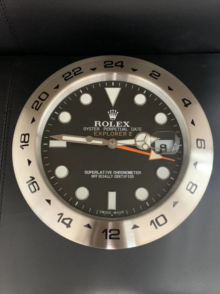 Rolex Explorer II Wall Clock