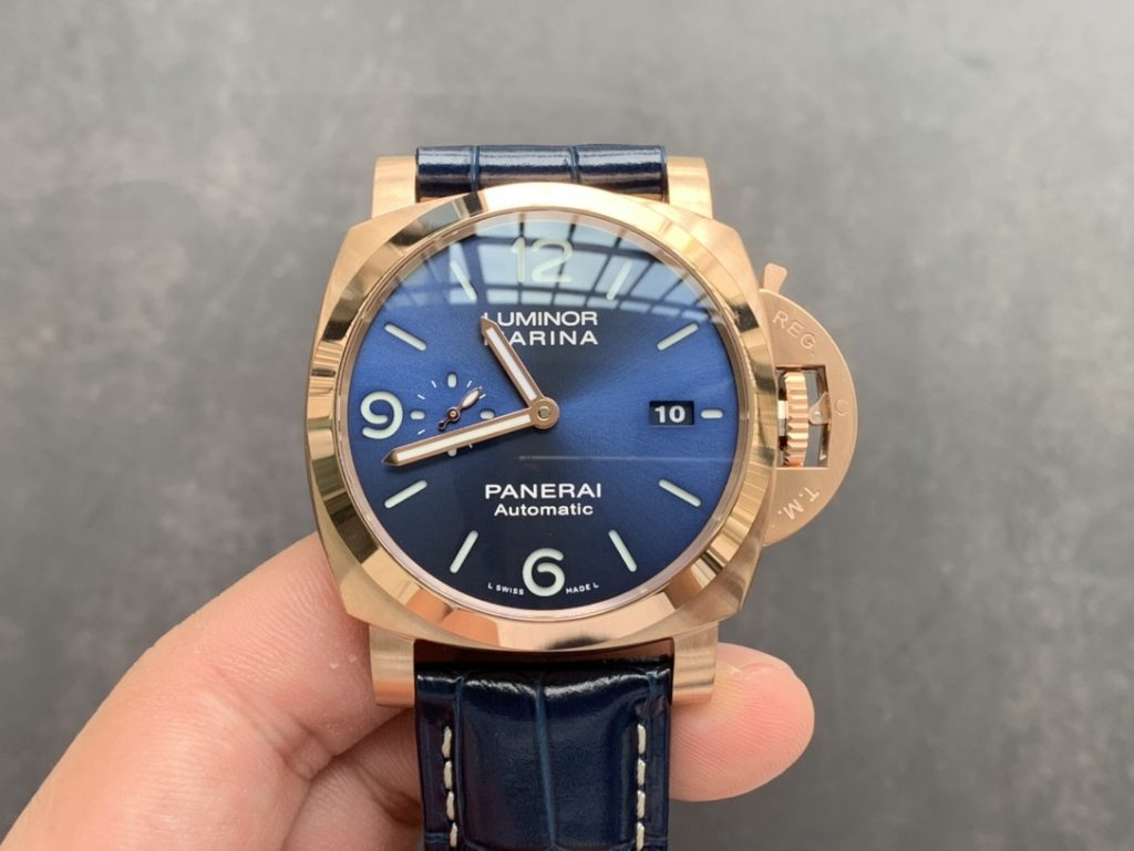 PAM 1112 Blue Dial