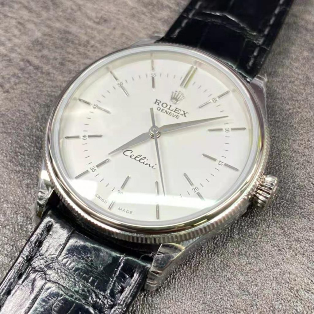Rolex Cellini White Replica