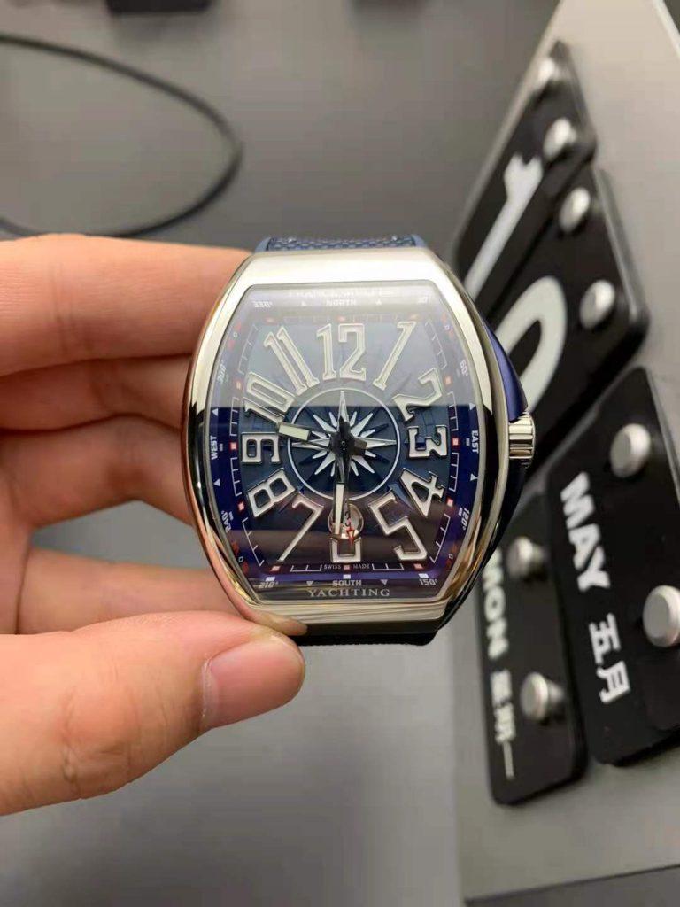 Replica Franck Muller Vanguard Blue
