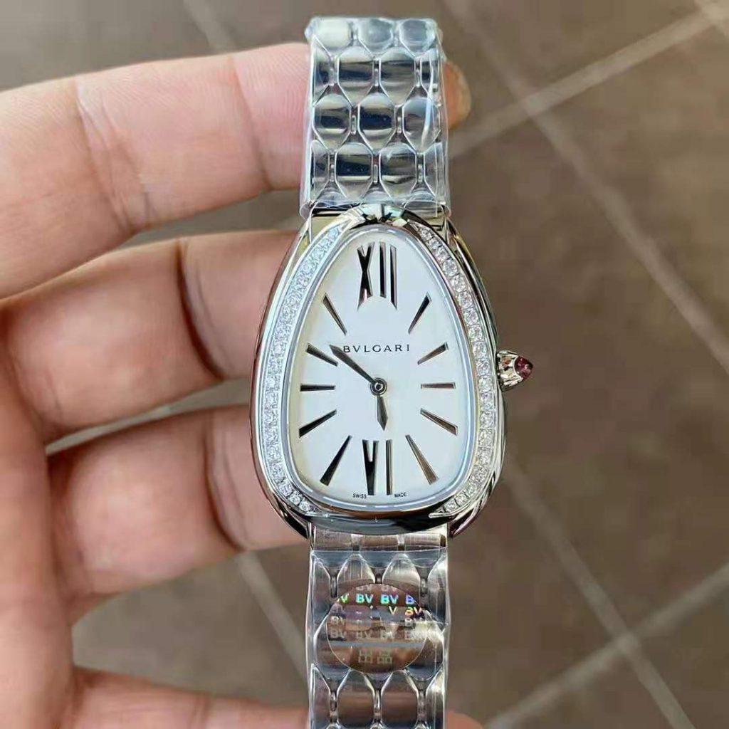 Replica Bvlgari Serpenti Diamond Watch