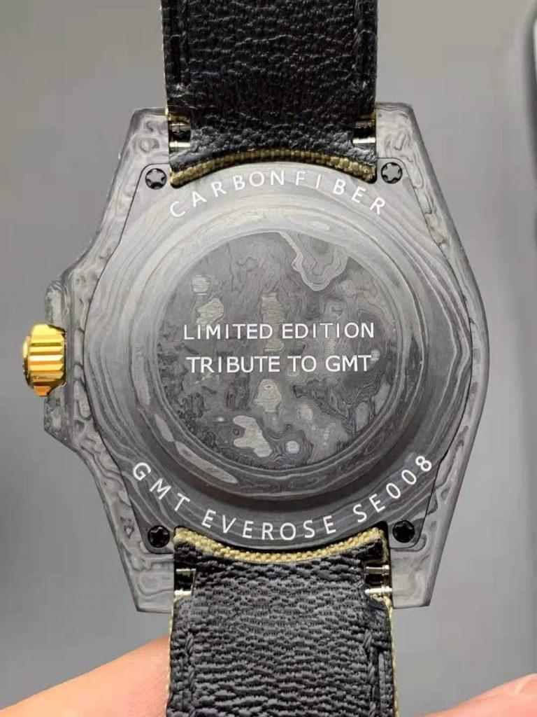 Rolex GMT-Master II DIW Carbon Case Back