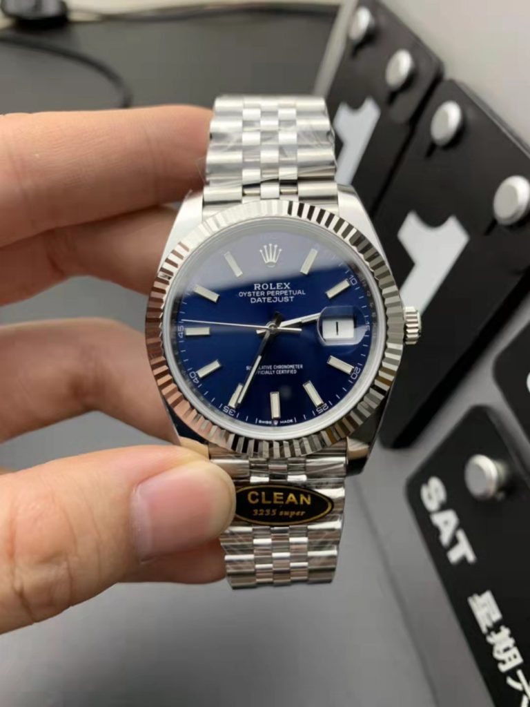 Clean Replica Rolex Datejust II Blue