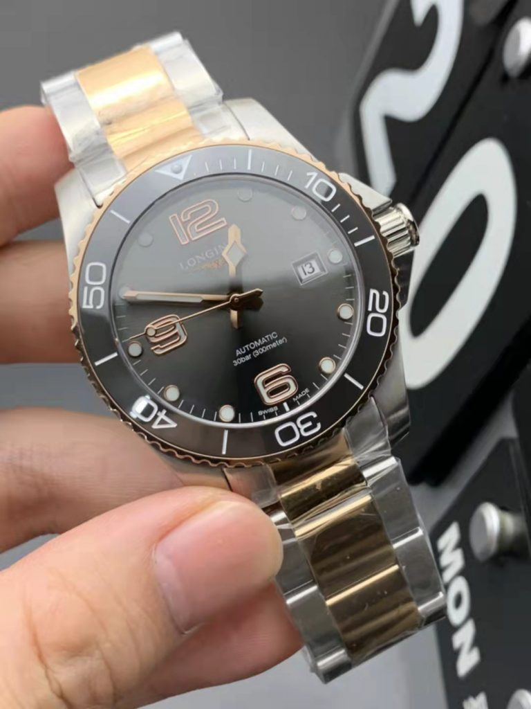 Longines Conquest Two Tone