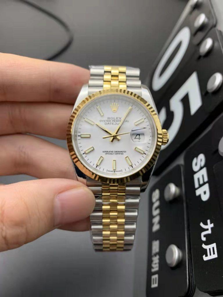 Replica Rolex Datejust 36mm Two Tone
